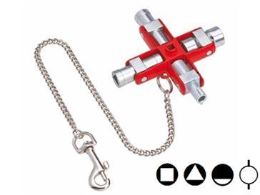 Chiavi universali per armadi elettrici e quadri knipex for M3 arredamenti catalogo